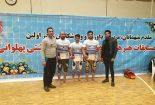 درخشش پهلوان بافقی در مسابقات زورخانه ای قهرمانی منطقه ۲ کشور