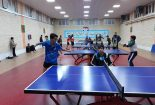 برگزاری مسابقات تنیس روی میز آموزشگاه های پسرانه متوسطه دوره اول