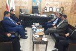 دیدار فرماندار بافق با مدیرکل نوسازی ، توسعه و تجهیز مدارس استان یزد
