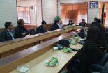 نشست مسئولان صندوق اعتباری هنر کشور باجمعی ازهنرمندان شهرستان بافق