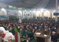 حضور پرشور مردم بافق در مراسم گرامیداشت شهادت سردار سلیمانی(تصویری)