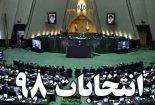 تعداد آراء نامزدهای انتخاباتی مجلس در حوزه ابرکوه، مهریز، بافق، خاتم و بهاباد