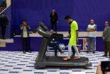 رکورد روپایی روی تردمیل جهان در یزد شکست