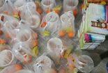توزیع بسته های افطاری توسط بسیجیان پایگاه امام حسن عسکری وکانون فرهنگی هنری شهید اصغر حبیبیان در بافق