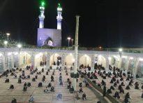 مراسم احیاء شب بیست و یکم ماه مبارک رمضان و دومین شب از شبهای قدر در آستان مقدس امامزاده عبدالله علیه السلام شهرستان بافق