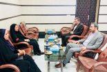 دیدار مسئولین شبکه بهداشت و شبکه دامپزشکی با رئیس دادگستری و دادستان شهرستان بافق به مناسبت هفته قوه قضائیه