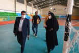 بازدید مدیر کل ورزش و جوانان استان یزد از پروژه های در دست اقدام اداره ورزش و جوانان شهرستان بافق