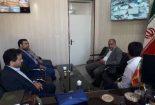 بازدید سرزده نماینده مردم در مجلس شورای اسلامی از اداره منابع طبیعی شهرستان بافق