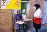 هدیه های خوب برای بچه های خوب کاری از کانون جوانان روستایی هلال احمر کوشک