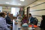 دیدار رییس منابع طبیعی و آبخیزداری بافق با رئیس دادگستری و دادستان شهرستان