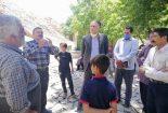 بازدید بخشدار مرکزی بافق از روستاهای دشتیخوان و همسک
