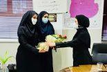 دیدار و خدا قوت چند تن از مدیران زن شهرستان با معاون شبکه بهداشت و درمان بافق به مناسبت روز پزشک