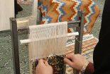برگزاری دوره آموزش گلیم بافی و هنر تابلو فرش در شهرستان بافق