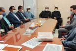 تعامل شهرداری بافق با بیمارستان حضرت ولی عصر (عج)
