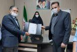 ابلاغ حکم رئیس هیات اسکیت شهرستان بافق
