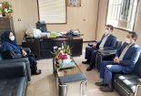 حضور فرماندار بافق در اداره دامپزشکی
