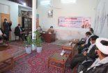 مسوولین شهرستان بافق به مناسبت هفته بسیج با امام جمعه دیدار کردند