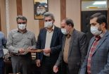 دیدار مدیر عامل شرکت صنایع معدنی نوظهور با مدیر عامل مجتمع معادن سنگ اهن فلات مرکزی ایران