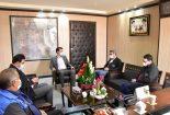 دیدار سرپرست مجتمع معادن سنگ آهن فلات مرکزی با فرماندار بافق