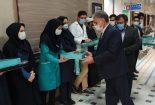 تجلیل از پرستاران  نمونه کشوری و استانی در بیمارستان بافق
