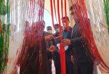 افتتاح پنجمین خانه هلال احمر در آستان مقدس امامزاده عبدالله (ع)بافق