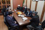 نشست شهردار و اعضای شورای اسلامی شهر بافق با مدیر مجتمع معادن فلات مرکزی