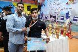 مدال های طلا بر گردن پهلوانان بافقی در مسابقات پاورلفتینگ استانی