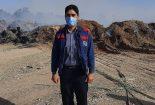 علت اولیه حریق انبار ضایعات فضای سبز پارک آهنشهر در حال بررسی است