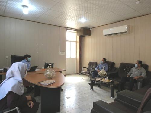 نشست صمیمانه رؤسای ادارات منابع طبیعی و جامعه معلولین شهرستان بافق