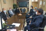 دیدار مدیر مجتمع معادن سنگ آهن فلات مرکزی با مدیر آموزش و پرورش شهرستان بافق به مناسبت روز معلم