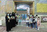 برگزاری نشست کتابخوان به مناسبت دهه کرامت در آستان مقدس امامزاده عبدالله (ع) بافق