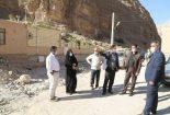 بازدید فرماندار شهرستان بافق از روستای قطرم