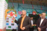 برگزاری مراسم صبحگاه سلامت در آموزشگاه ۲۲ بهمن