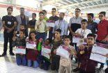 درخشش تیم هیئت شنا بافق در مسابقات استانی
