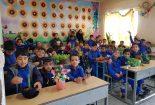 اجرای طرح یک مدرسه،صد گلدان در آموزشگاه شهید دهستانی