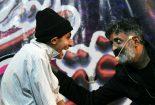 اجرای جنگ خنده شو در سالن هلال احمر بافق