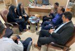 دیدار فرماندار شهرستان بافق با رئیس اداره میراث فرهنگی