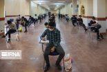۱۸ درصد داوطلبان آزمون سراسری در یزد غایب بودند