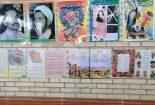 برپایی نمایشگاه ایثار و ومقاومت موزه فرهنگ و ادب شهرستان بافق