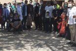 استقبال از اولین تور گردشگری پس از شروع مجدد سفرها به شهر بافق