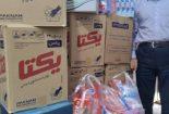 توزیع ۵۵۵ بسته سبد کالای بهداشتی در بین نیازمندان