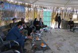 بازدید فرماندار شهرستان بافق بهمراه مدیرکل منابع طبیعی استان یزد از اداره منابع طبیعی