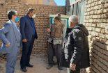 بازدید بخشدار مرکزی از روستاهای دهستان مبارکه