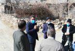 بازدید بخشدار مرکزی به همراه رئیس شورای اسلامی بخش مرکزی بافق از روستاهای دهستان کوشک