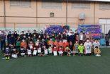 اختتامیه مسابقات مینی فوتبال جام نوروز۱۴۰۰ برگزار شد