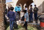 پاکسازی معابر بافت تاریخی شهر بافق در روز زمین پاک