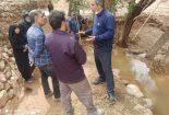 حضور بخشدار مرکزی شهرستان بافق در جمع مردم روستای دشت خوان