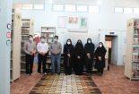 بازدید مدیرکل کتابخانههای عمومی یزد از کتابخانه خیّری محمدرضا فرزین