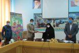 تقدیر از رئیس دانشگاه آزاد اسلامی بافق به خاطر افزایش درآمدهای غیر شهریه ای